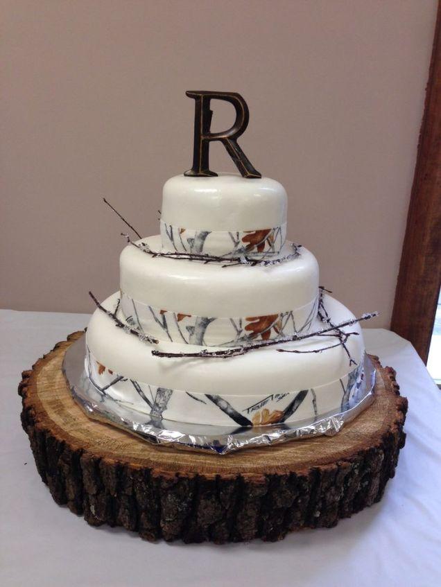 Camo Wedding Cakes Pictures