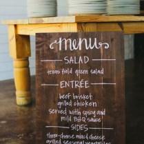 Chalkboard Fonts For Wedding Signs Menu Wedding Sign Chalkboard