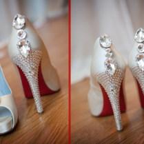 Christian Louboutin Wedding Shoe
