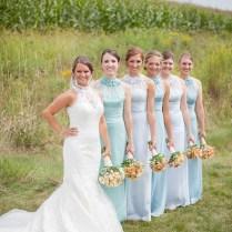 Country Wedding Bridesmaid Dresses 6 Bridesmaid Cowboy Boots