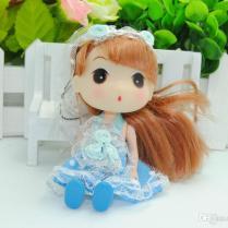 Cute Wedding Gift Korea Ddung Doll Cell Phone Keychain Girls Gift
