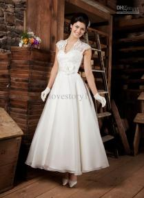 Discount Off Shoulder Retro Wedding Dress Retro Castle Off