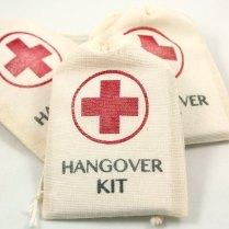 Diy Hangover Kit Set Of 10 Funny Wedding Favors Gag Gifts