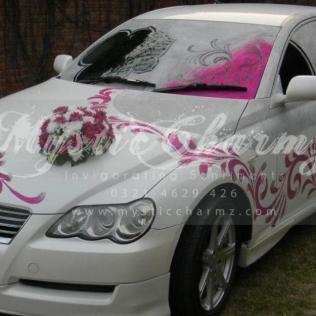 Diy Wedding Car Decorating Ideas Youtube Wedding Car Just