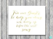 Download Printable Wedding Decoration Signs