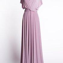 Dusty Rose Dress, Womens Maxi Dress, Maxi Mauve Dress, Dusty Pink