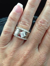 Engagement Rings Fit For A Cowgirl