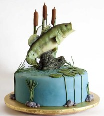 Fish Wedding Cakes