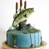 Fish Wedding Cakes