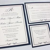 Formal Wedding Invitation