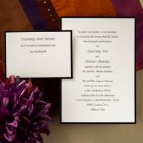 Formal Wedding Invitation Sample Iidaemiliacom A Formal Affair