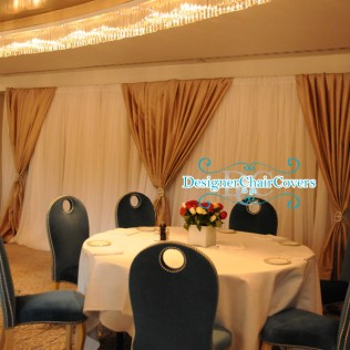Fresh Wedding Backdrops In London Designer Chair Covers To Go
