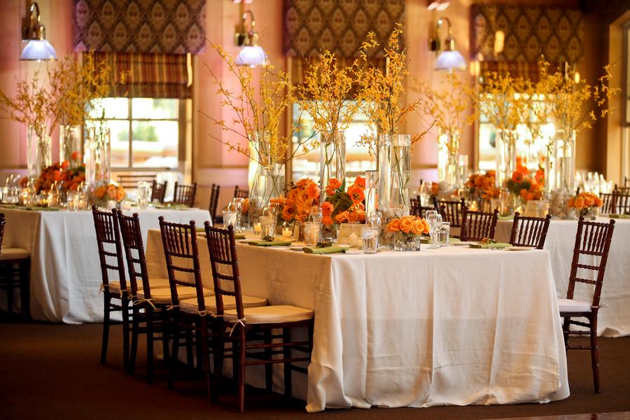 Fall Wedding Reception Decorations