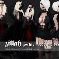 Goth1c0 Beautiful Gothic Wedding Gown