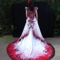 Graveyard Shift Halloween Wedding Dress