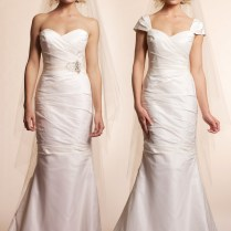How To Add Sleeves To A Sleeveless Wedding Dress Â« Bella Forte