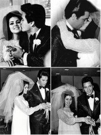 Iconic Wedding Dresses Priscilla Presley