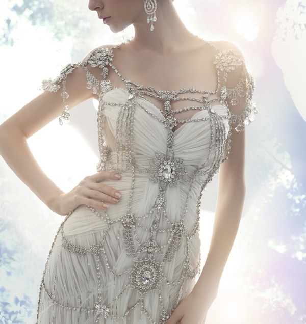 Incredible Jeweled Wedding Dress