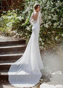Lace Low Back Wedding Dress Naf Dresses