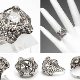 Large Design Wedding Rings