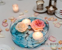 Light Blue And Pink Wedding Colors Wedding Reception Unique