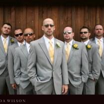Light Gray Suit Wedding