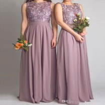 Mauve Dress Wedding Promotion