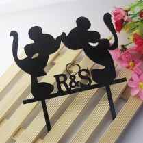 Mickey Mouse Wedding Cake Toppers Promotion