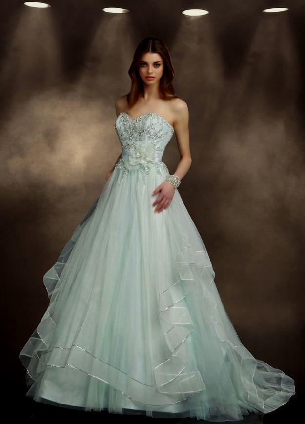 Mint Green Wedding Dress Naf Dresses