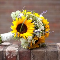 New Country Wedding Flowers Western Sunflower Bouquet Sunflower