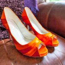 Orange Wedding Shoes Bright Orange Wedding Shoes Bridalshoescom