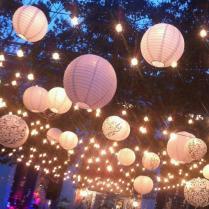 Paper Lanterns Made Wedding Dreams Come True!