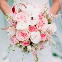 Pink Rose Bridal Bouquet