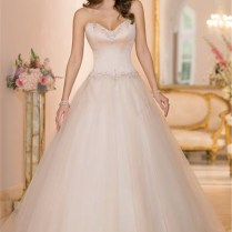 Popular Light Pink Wedding Dress