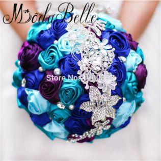 Popular Royal Blue Wedding Bouquets