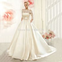 Popular Simple Wedding Dress For Civil Wedding