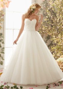 Popular Simple White Dress For Civil Wedding