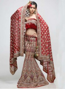 Red Indian Wedding Dress – We Know Him Yet, The Charming Modest