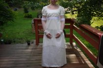Regency Style Wedding Dress By Korinalle On Deviantart