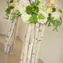 Rustic Ceremony Arrangements