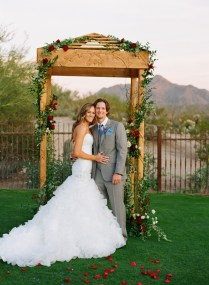 Rustic Elegant Wedding Arch