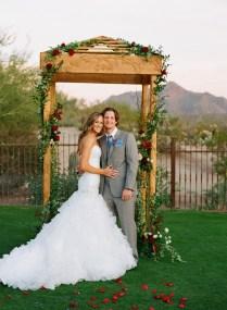Rustic Elegant Wedding Arch