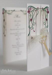 Secret Garden Wedding Invitations