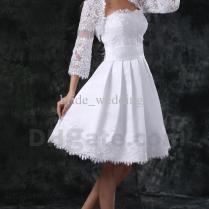 Short Wedding Dresses Not White – Your Wedding Photo Blog