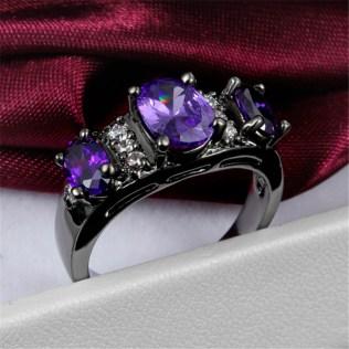 Similiar Black And Purple Ring Keywords