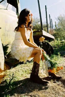 Simple Country Wedding Dresses 2013