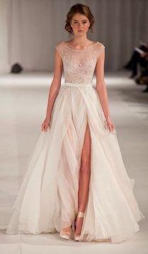 Spotlight Short Sleeve Wedding Dresses
