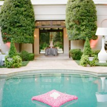 Swimming Pool Wedding Decoration Ideas
