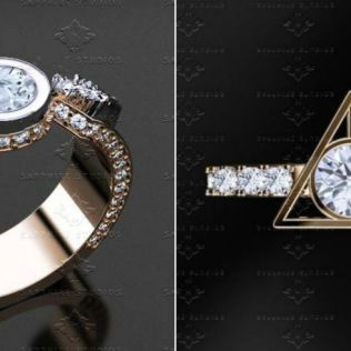 The 'harry Potter' Engagement Rings That Will Add Magic To Your