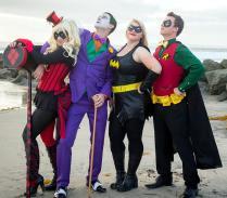 The Joker And Harley Quinn Showdown A Dc Superhero Wedding